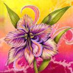 """""""The Paisley Amaryllis"""" by AlmaLee"""