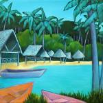 """Paradise Cove"" by LorrainesArtStudio"