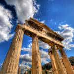 """The Gate of Athena Archegetis, Athens, Greece"" by sergioamiti"