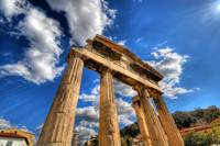 The Gate of Athena Archegetis, Athens, Greece