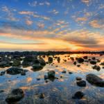 """Sunrise at Burleigh Heads, Gold Coast, Australia"" by sergioamiti"