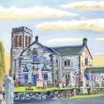 """Dunlop Parish Kirk"" by Longlinestudio"