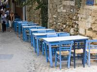Blue Tables