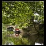 """Huddersfield Narrow Canal, Uppermill"" by Jeni_Harney"
