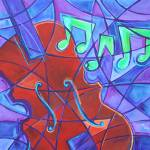 """Cello Mosaic"" by laurabolter"