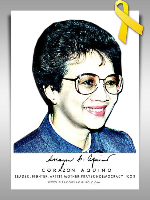 character of corazon aquino as a