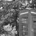 """B_W Telephone Booth"" by Affili8Review"
