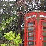 """Full colour Telephone Booth"" by Affili8Review"