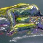 """1b sleeping lady royal green"" by Mark_Campo"
