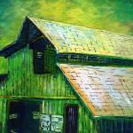 """""""Cattle Barn"""" by monalisyartist"""