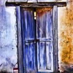 """Weathered Doorway, La Aduana"" by johncorney"