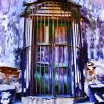 """Barred Window, La Aduana"" by johncorney"
