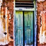 """La Aduana Doorway"" by johncorney"