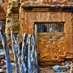 """Crumbling Building in La Aduana, Mexico"" by johncorney"