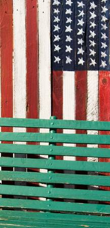 Flag & Bench Pattern, Colorado
