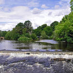 """River Wye and Weir, Bakewell  (18583-RDA)"" by rodjohnson"