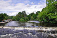 River Wye and Weir, Bakewell  (18583-RDA)