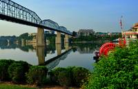 Walnut Street Bridge,Chattanooga,TN