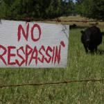 """No Tresspassin"