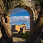 """""""Tunisia - Dougga - Olive Arch"""" by kirahagen"""