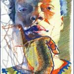 """Blues"" by Shawfineart"
