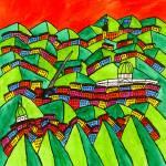 """""""Abstract Dublin 5"""" by Aurelie"""