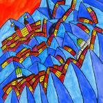 """""""Abstract Dublin 8"""" by Aurelie"""