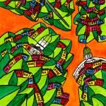 """""""Abstract Dublin 9"""" by Aurelie"""