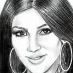 """Kim Kardashian"" by McHenryDesigns"