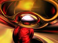 Eye of the Gods Abstract