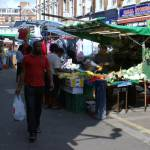 """Brixton  Electric Avenue street market"" by chrisww59"