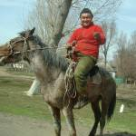 """Journey from Almaty to Charyn.Kazakh Horseman"" by chrisww59"