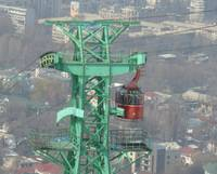 Kok Tobe cable car Almaty