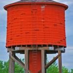 """historic water tower"" by lwoodburn"