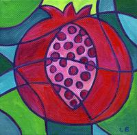 Pomegranate Mosaic