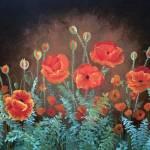 """""""Moonlit Poppies"""" by VictoriaLarsen"""