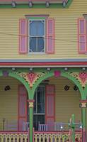 candy colored house