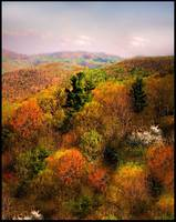 The painted Appalachians