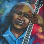 """""""Blues Guitar Player"""" by reniebritenbucher"""