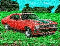 1971 Chevy NOVA Amazing Montage Mosaic MUST SEE