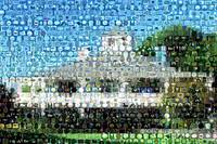 Augusta National Clubhouse Montage Mosaic MUST SEE