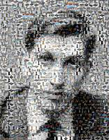 Bobby Fischer CHESS Amazing Montage Mosaic MUST SE