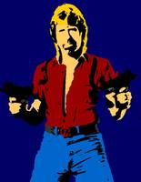 Chuck Norris Shadow Color