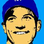 """Mickey Mantle FACE Shadow Color"" by finalscore"