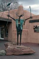 Bill Worrell Statue, Santa Fe, New Mexico