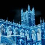 """Kings College in Blue"" by chorne"