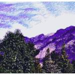 """Purple Mountain"" by chorne"