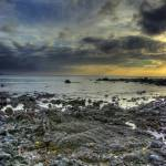 """Rocky Shore Sunset"" by CreativeLynx"