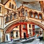 """Bridge of Sighs, England"" by chorne"