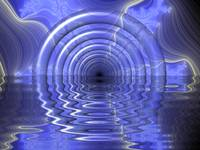 Tunnel with water